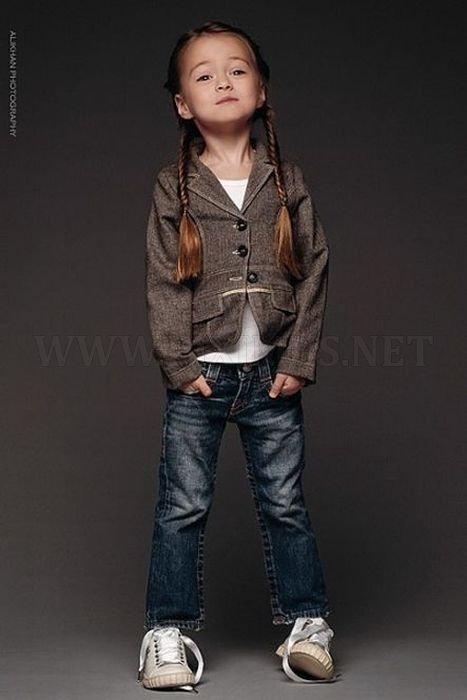 4-Year-Old Model Kristina Pimenova