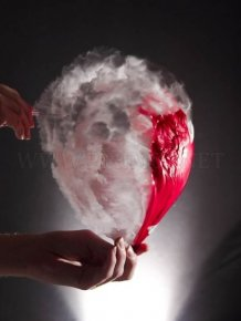 Water balloon bursting photos