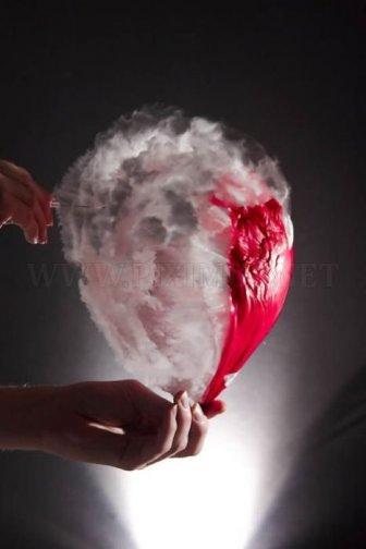 Water balloon bursting photos