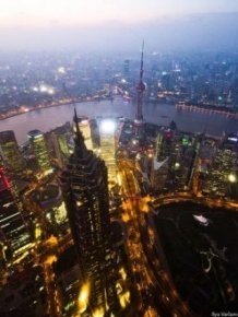 Shanghai From the Bird's Eye View