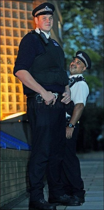 The real long arm of the law