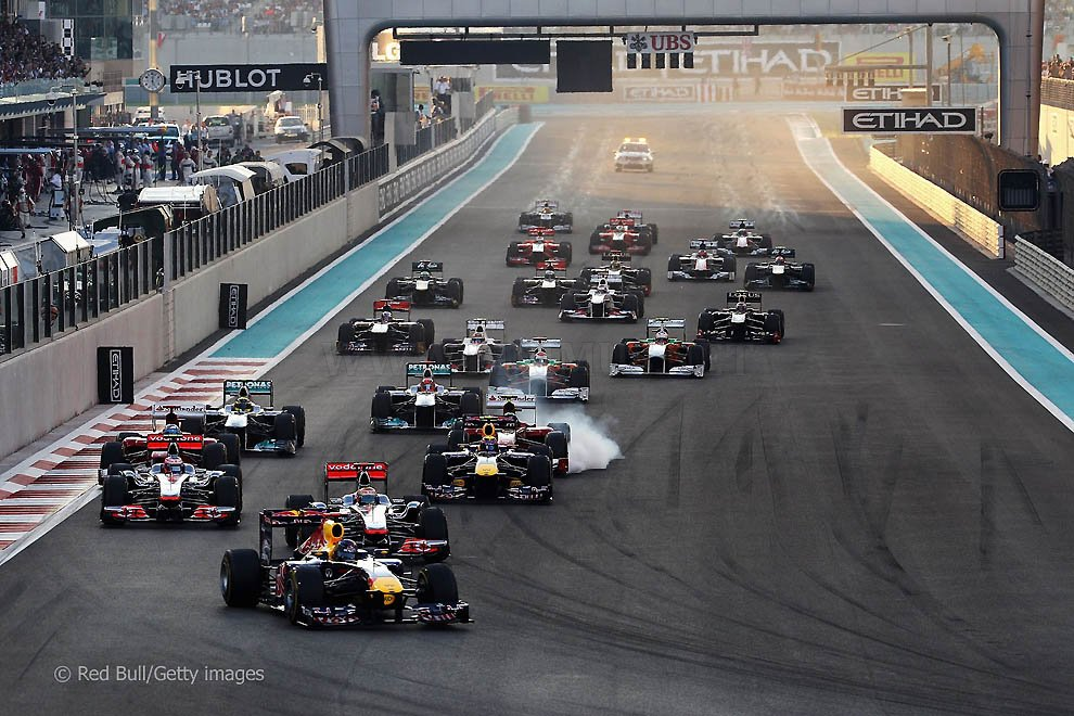Behind the scenes of the Grand Prix of Abu Dhabi 2011, part 2011