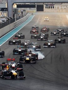 Behind the scenes of the Grand Prix of Abu Dhabi 2011