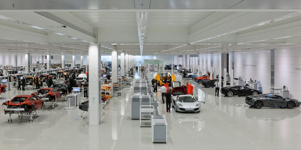 McLaren Production Centre