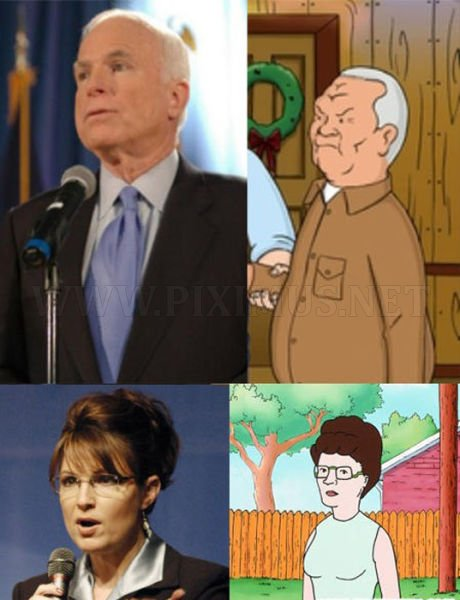 Famous People And Their Cartoon Lookalikes Celebrities - People cartoon look alikes