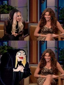 Famous People and Their Cartoon Lookalikes