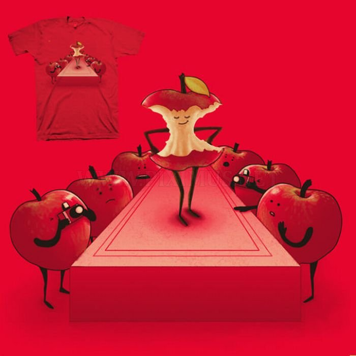 Creative Drawings for T-shirts by Nacho Diaz
