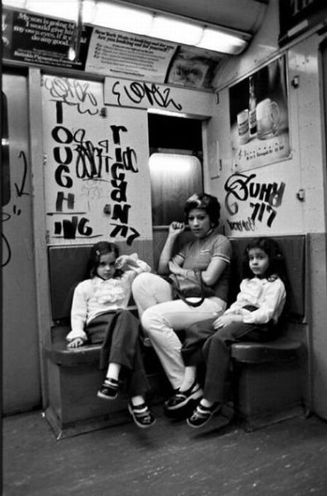 Old Photos of New York Subway