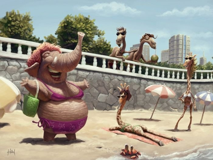Great Illustrations by Tiago Hoisel