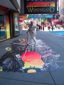 3D Street Art by Joe and Max