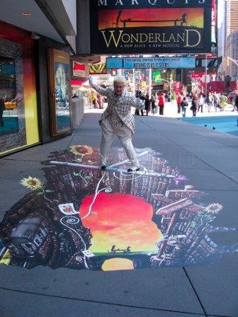 3D Street Art by Joe and Max