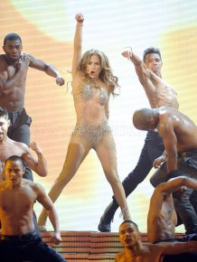 Jennifer Lopez's Memorable but Risque AMA Performance