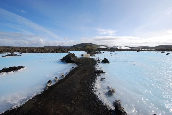 The Blue Lagoon of Iceland