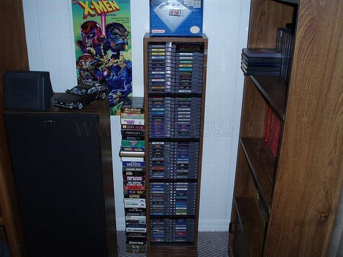 Vintage Game Room