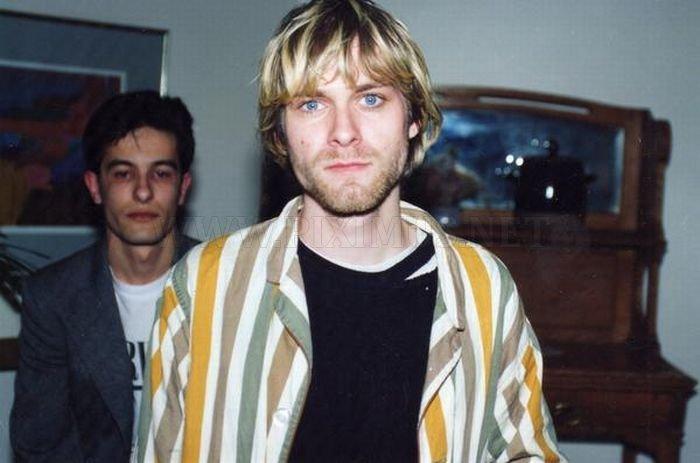 Rare Pictures of Kurt Cobain