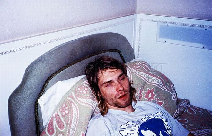 Rare Pictures of Kurt Cobain