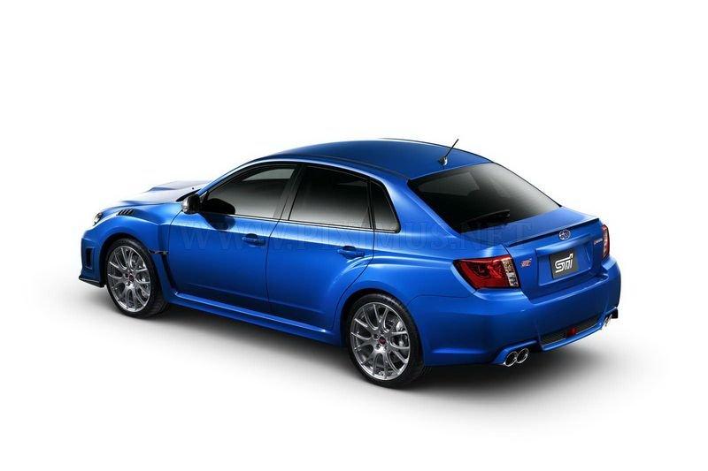 Subaru Impreza WRX STI S206 special edition