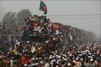 The Mass Prayer in Bangladesh