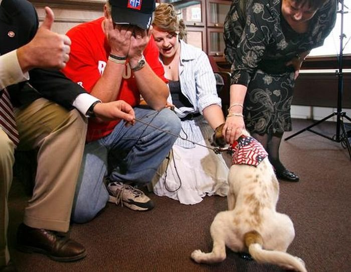 Dead Soldier's Puppy Became a Symbol of Hope for His Family