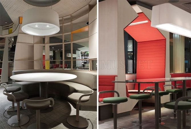 The new design of McDonald's