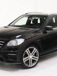 The new Mercedes ML-Class tuning by Brabus