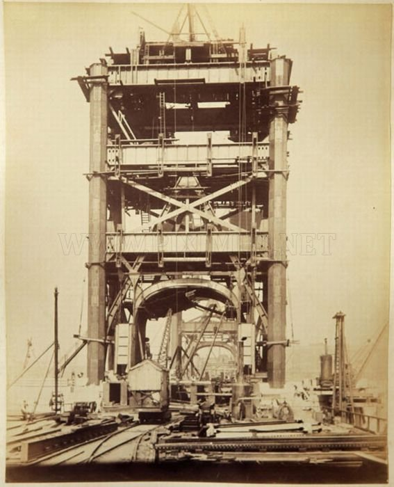 The Construction of London Tower Bridge
