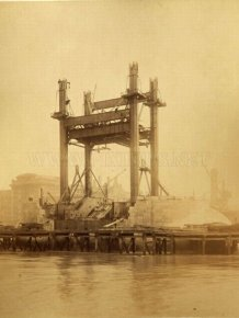 The Construction of London Tower Bridge
