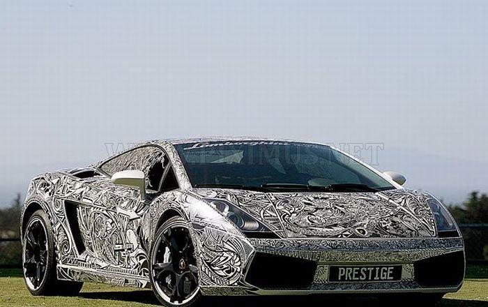 Cop Stops Lamborghini Prestige
