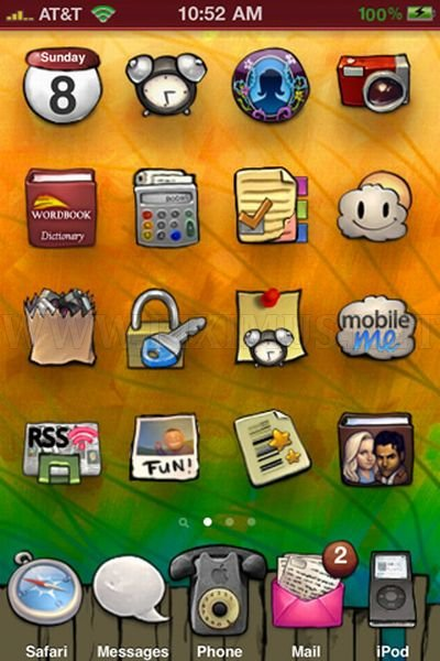 Best iPhone 4 Themes