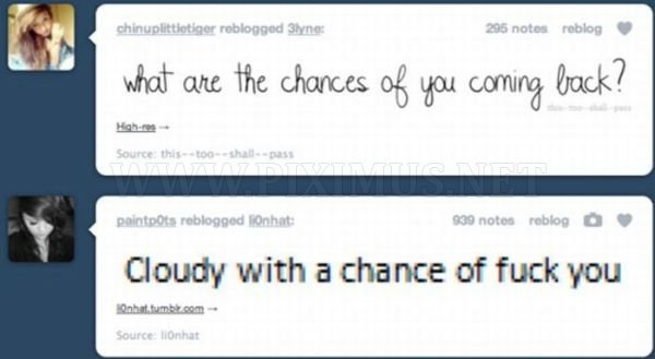 Tumblr Coincidences
