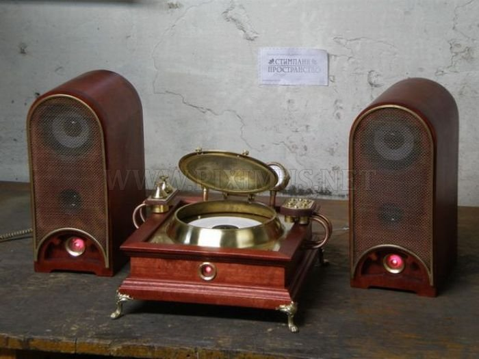 Amazing Handmade Steampunk CD Player