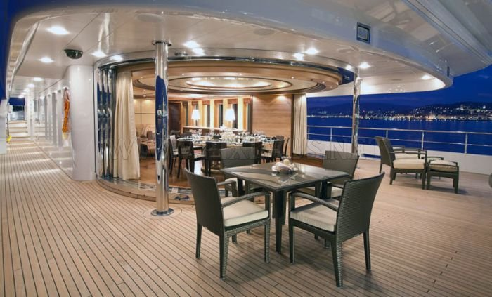 Superyacht Sirius is a New Yacht of the Russian President