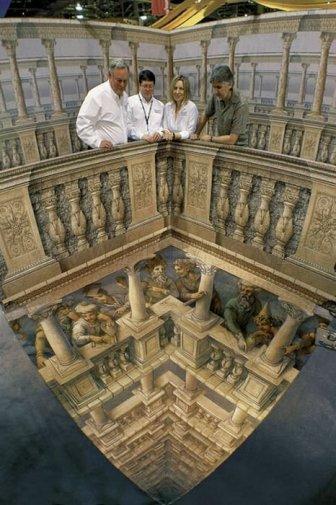 Beautiful 3-D Illusions by Kurt Wenner