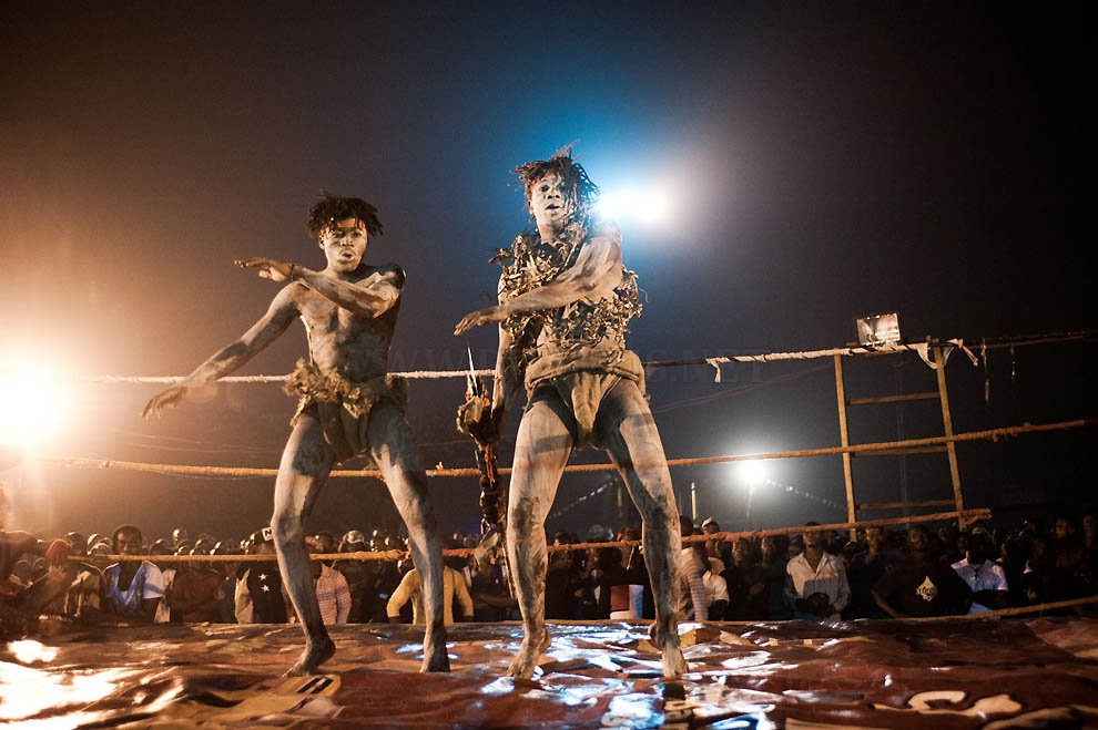 Wrestling in the Congo