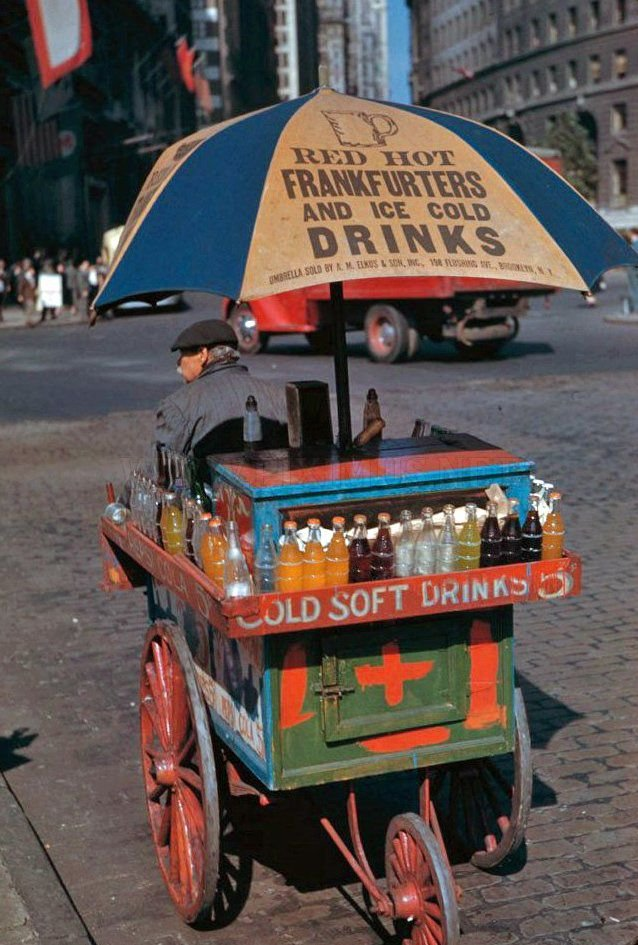 1941 New York City Comes Alive in Color