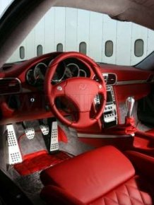 Car Red interiors