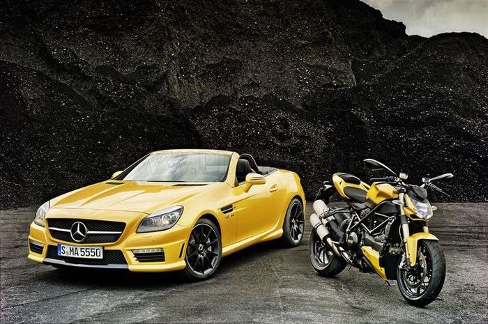 AMG and Ducati together