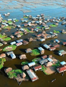 The African Venice - City-Lake Ganve