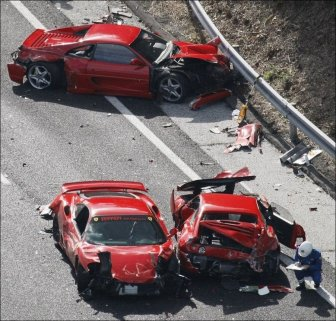 The Most Expensive Car Crash Ever
