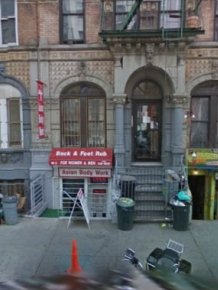 Album Covers on Google Street View