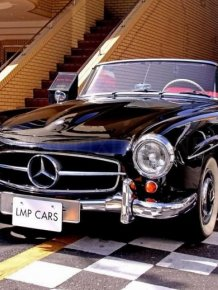 Vintage Mercedes-Benz Cars