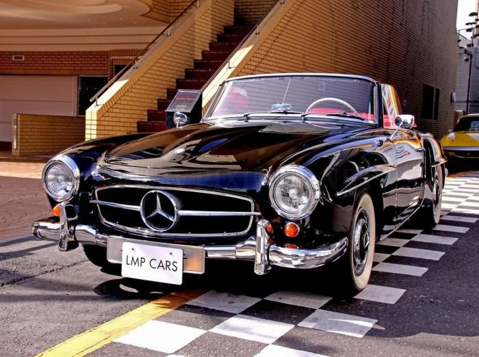 Vintage mercedes benz cars vehicles for Mercedes benz classic cars