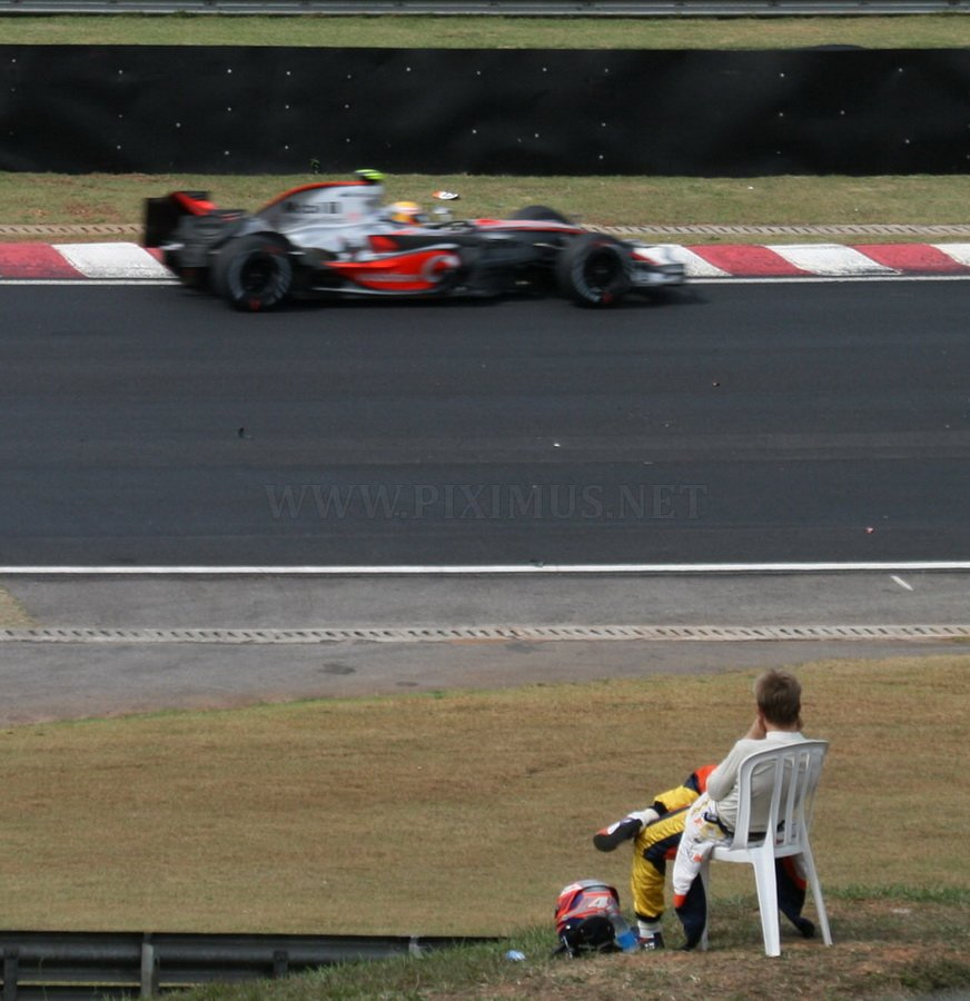 Behind the scenes of the Grand Prix of Brazil 2011, part 2011