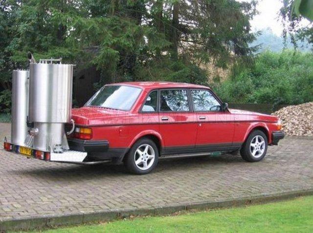 Wood Gas Vehicles