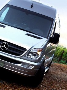 The best van of the World by Mercedes-Benz