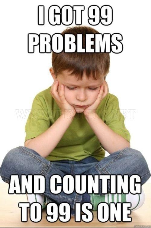 First Grade Problems