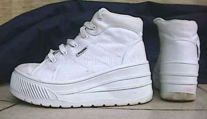 Platform Sneakers Of The '90s