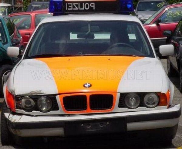 Police Car Crashes