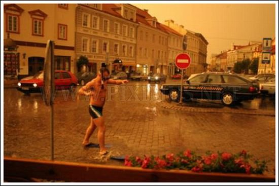 Street Swimming