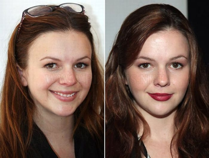 Celebrities Without Makeup